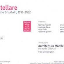 Lingua stellare. Il teatro di Fabrizio Crisafulli (1991-2002)