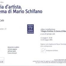 Trilogia d'artista. Il cinema di Mario Schifano