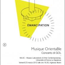 GOL/ Emancipazione/ Chapeau / Giallo/ Rome