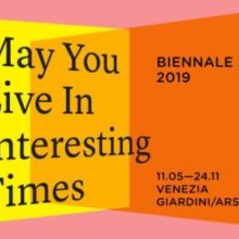MAY YOU LIVE IN INTERESTING TIMES-58 BIENNALE, VENEZIA. Intervista-Interview a/to Stella Santacatterina