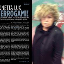 INTERROGAMI! Lectio Magistralis di Simonetta Lux  MacroAsilo Roma